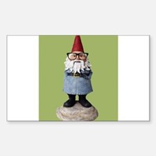 Hipster Garden Gnome with Eyeglasses Nerd Kitsch S
