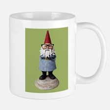 Hipster Garden Gnome with Eyeglasses Nerd Kitsch M