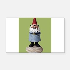 Hipster Garden Gnome with Eyeglasses Nerd Kitsch R