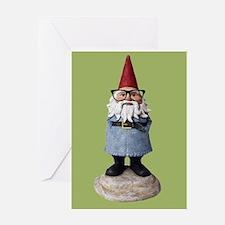 Hipster Garden Gnome with Eyeglasses Nerd Kitsch G