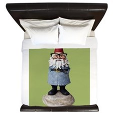 Hipster Garden Gnome with Eyeglasses Nerd Kitsch K