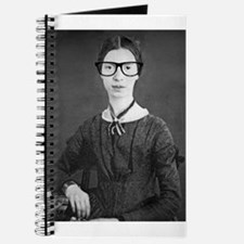 Hipster Emily Dickinson Altered Art Nerd Poet With