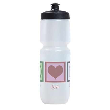 Peace Love Sweet 16 Sports Bottle