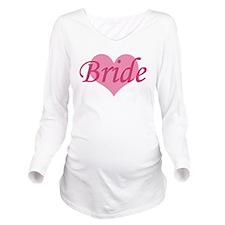 Bride Long Sleeve Maternity T-Shirt