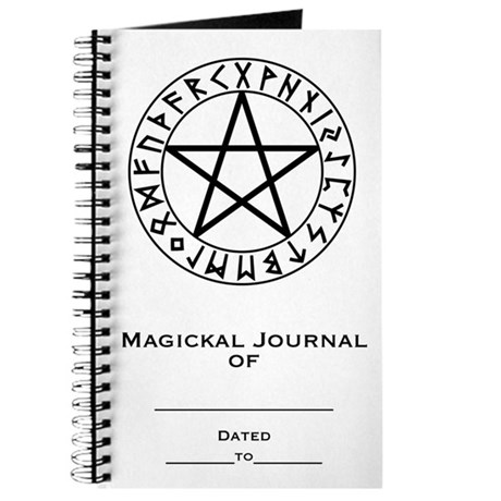 Rune Shield Pentacle Journal