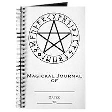 Rune Shield Pentacle Journal