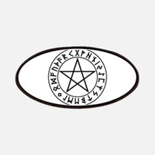 Rune Shield Pentacle Patches