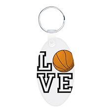 Love Basketball Keychains