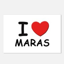 I love maras Postcards (Package of 8)