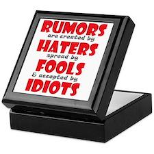rumors Keepsake Box