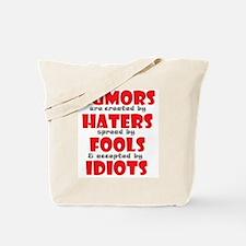 rumors Tote Bag
