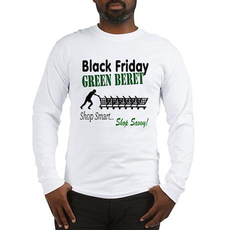 Black Friday Green Beret Long Sleeve T-Shirt