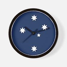 Southern Cross Stars Wall Clock