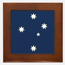 Southern Cross Stars Framed Tile