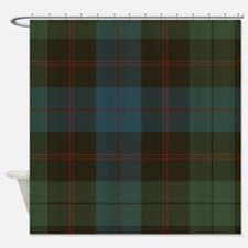 Plaid Shower Curtains Plaid Fabric Shower Curtain Liner