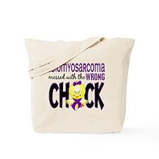 Leiomyosarcoma Messed w/Wrong Chick Tote Bag