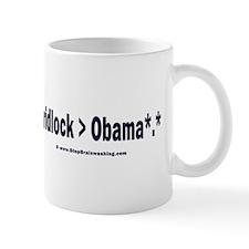 Gridlock over Obama Mug