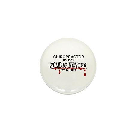 Zombie Hunter - Chiropractor Mini Button (10 pack)