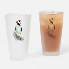 Puffin.png Drinking Glass