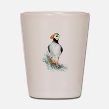 Puffin.png Shot Glass