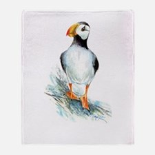 Puffin.Png Throw Blanket