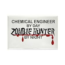 Zombie Hunter - Chem Eng Rectangle Magnet (10 pack