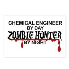 Zombie Hunter - Chem Eng Postcards (Package of 8)