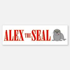 Alex The Seal Bumper Bumper Bumper Sticker