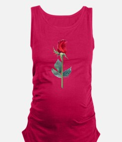 night rose Maternity Tank Top