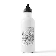 Wrought wheel Water Bottle