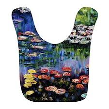 Monet Waterlilies Bib
