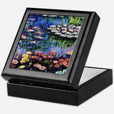Monet Waterlilies Keepsake Box