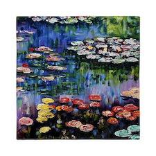 Monet Waterlilies Queen Duvet