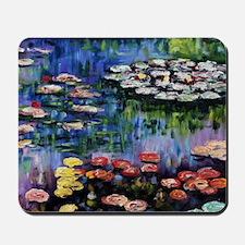 Monet Waterlilies Mousepad