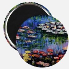 Monet Waterlilies Magnet
