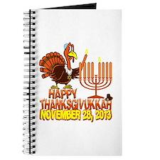 Happy Thanksgivukkah Journal
