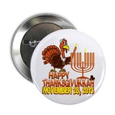 "Happy Thanksgivukkah 2.25"" Button (10 pack)"