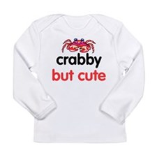 crabby but cute Long Sleeve T-Shirt