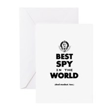 The Best in the World – Spy Greeting Cards
