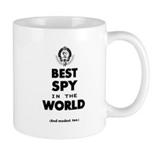 The Best in the World – Spy Mugs