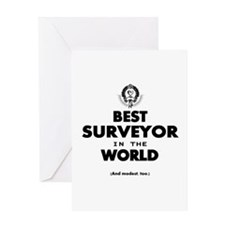 The Best in the World – Surveyor Greeting Cards