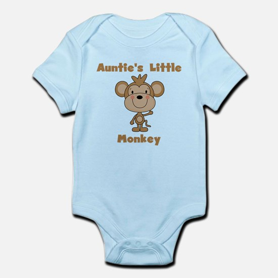 Auntie's Little Monkey Infant Bodysuit
