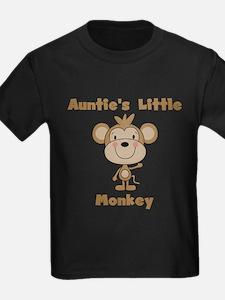 Auntie's Little Monkey T