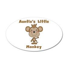 Auntie's Little Monkey Wall Decal