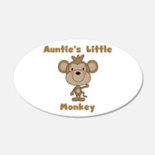 Auntie's Little Monkey Wall Decal