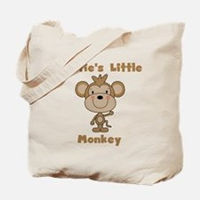 Auntie's Little Monkey Tote Bag