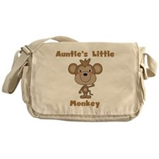 Auntie's Little Monkey Messenger Bag