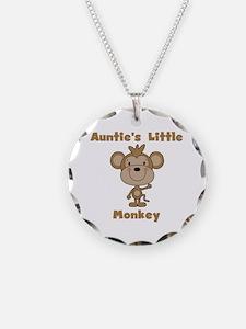 Auntie's Little Monkey Necklace