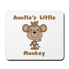 Auntie's Little Monkey Mousepad