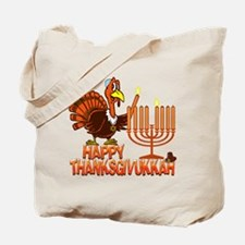 Happy Thanksgivukkah Tote Bag